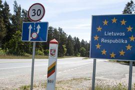 граница Литовской республики
